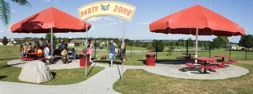 Party Zone Rental Area